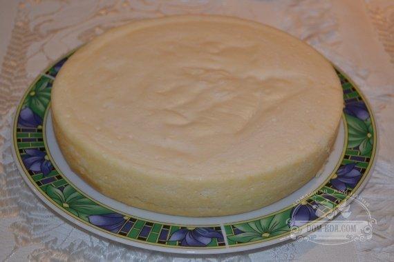 Нежный сливочный творожный пудинг с сыром Маскарпоне готов