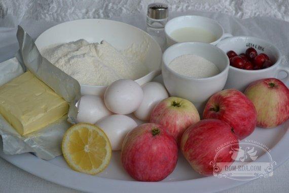 Ингредиенты для рецепта:«Эльзасский» пирог