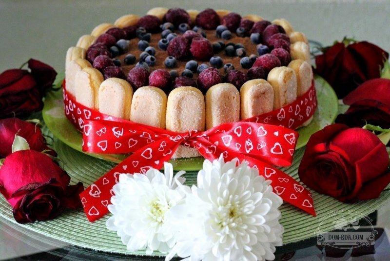 Торт тирамису с савоярди рецепт с фото