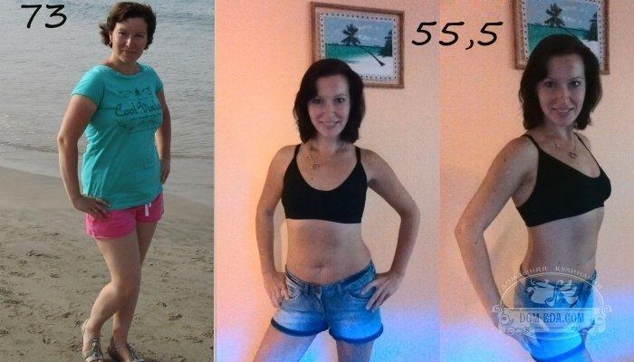 Диета блюдечко результаты до и после