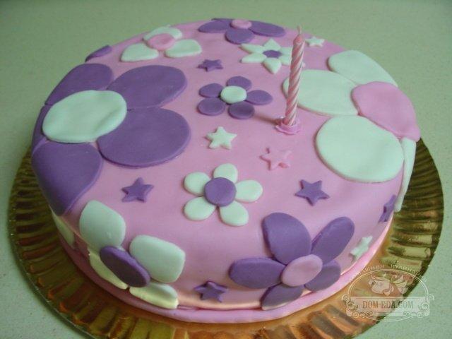 как прикрепить фигурки из мастики на торт суфле