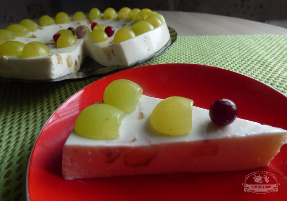 рецепт творог с желатином десерт рецепт