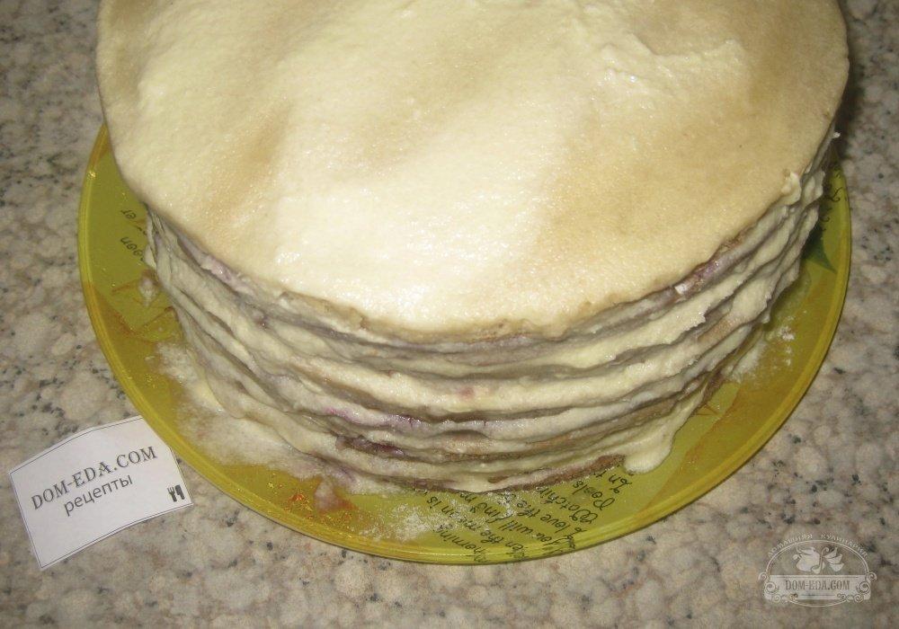 Торт манный рецепт с фото пошагово в домашних условиях
