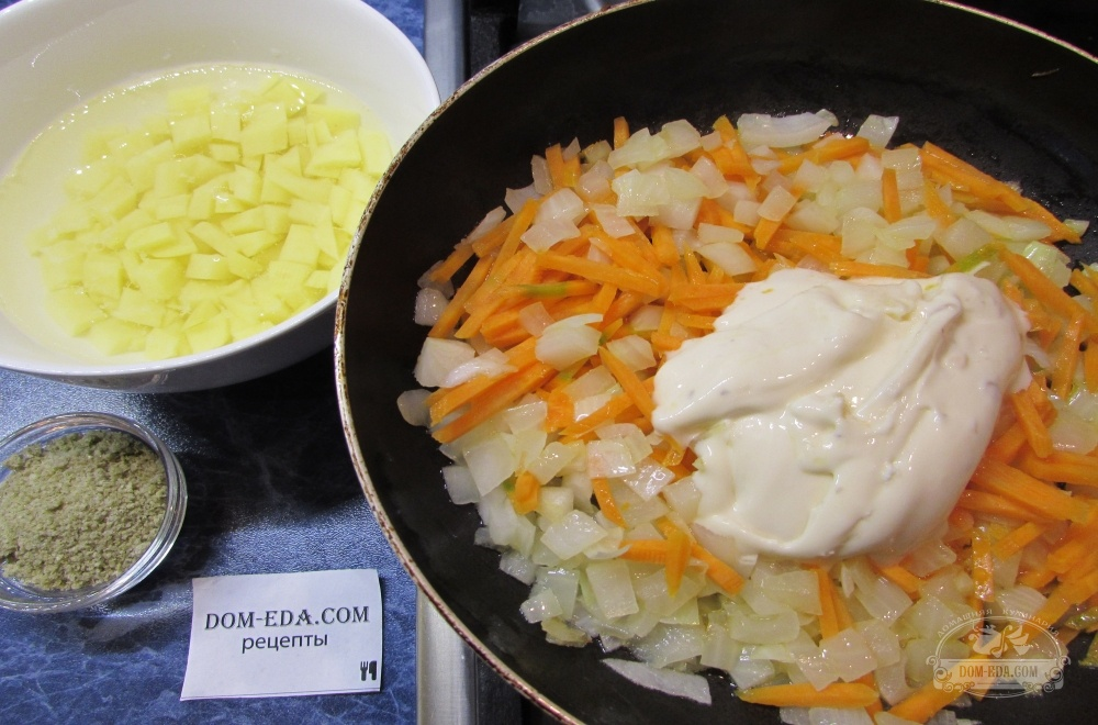 Королевские креветки в сливочном соусе рецепт с фото