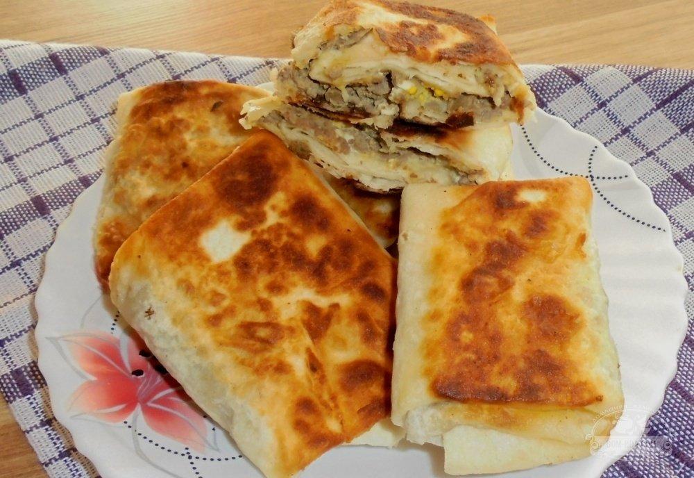 Рецепт приготовления лаваша с начинкой в домашних условиях 653