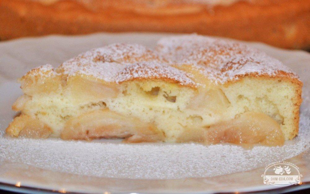 простой рецепт приготовления шарлотки с яблоками