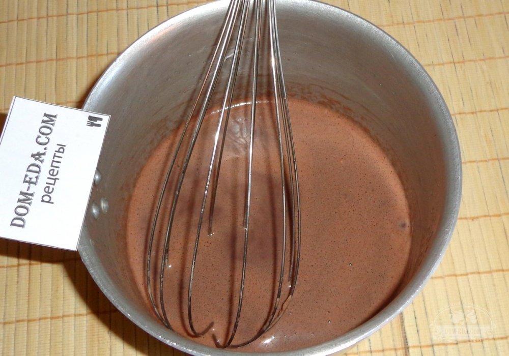 Как сделать из какао начинку 723