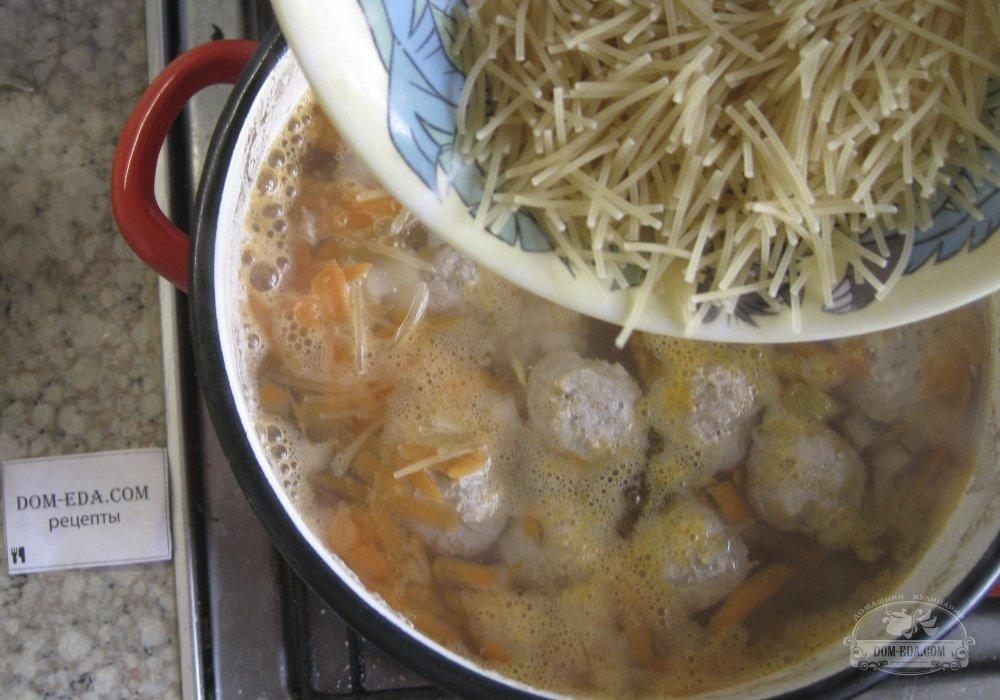 Суп с вермишелью пошаговый фото рецепт