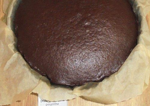Пирог шоколадный простой в духовке