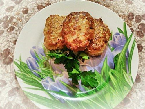 Сочные и ароматные котлеты из мяса индейки и курицы