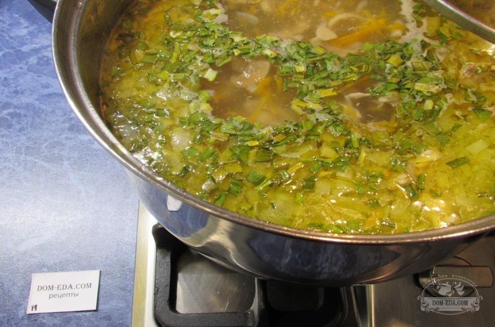 Как сделать чтобы грибной суп был прозрачным