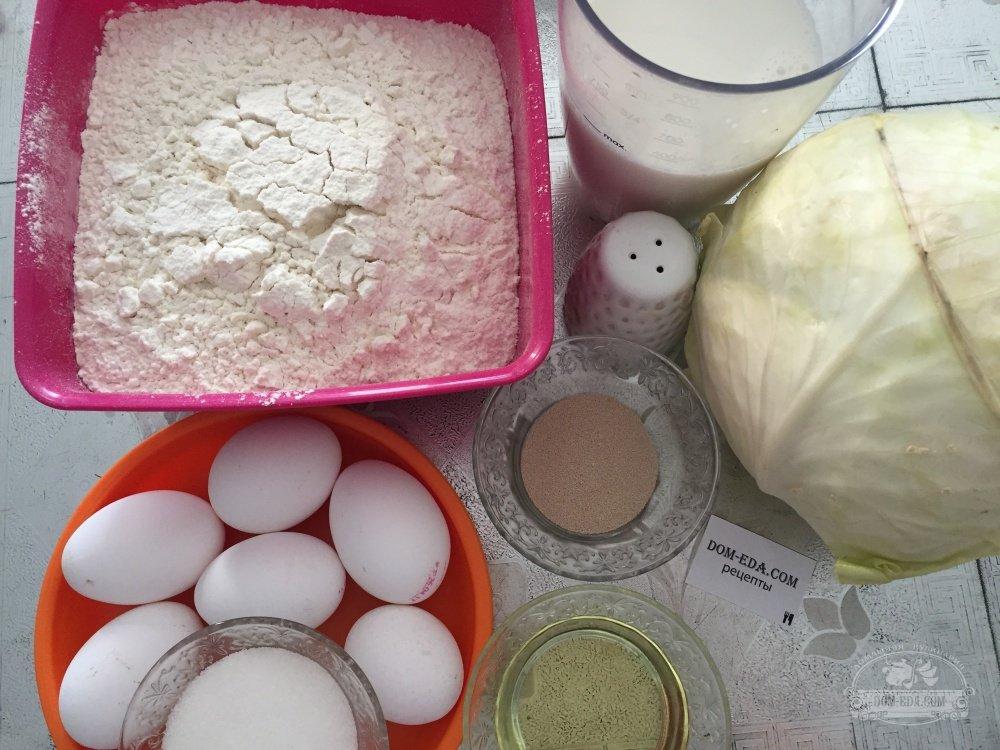 рецепт бабушкиных пирожков с капустой в духовке с