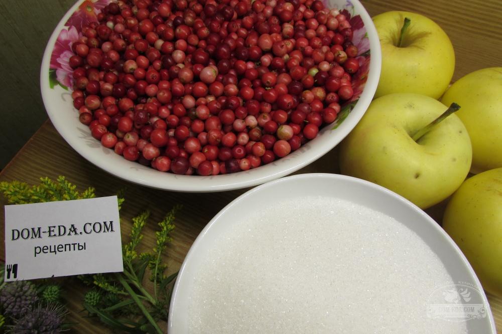 варенье брусника с яблоками рецепт пошагово фото фото сани