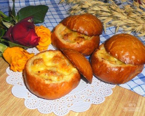 Закусочные булочки с начинкой