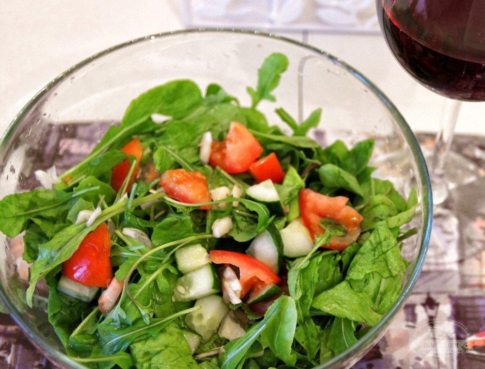 пошаговый фото рецепт салат из рукколы