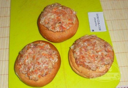 Фаршированные баранки рецепт с фото