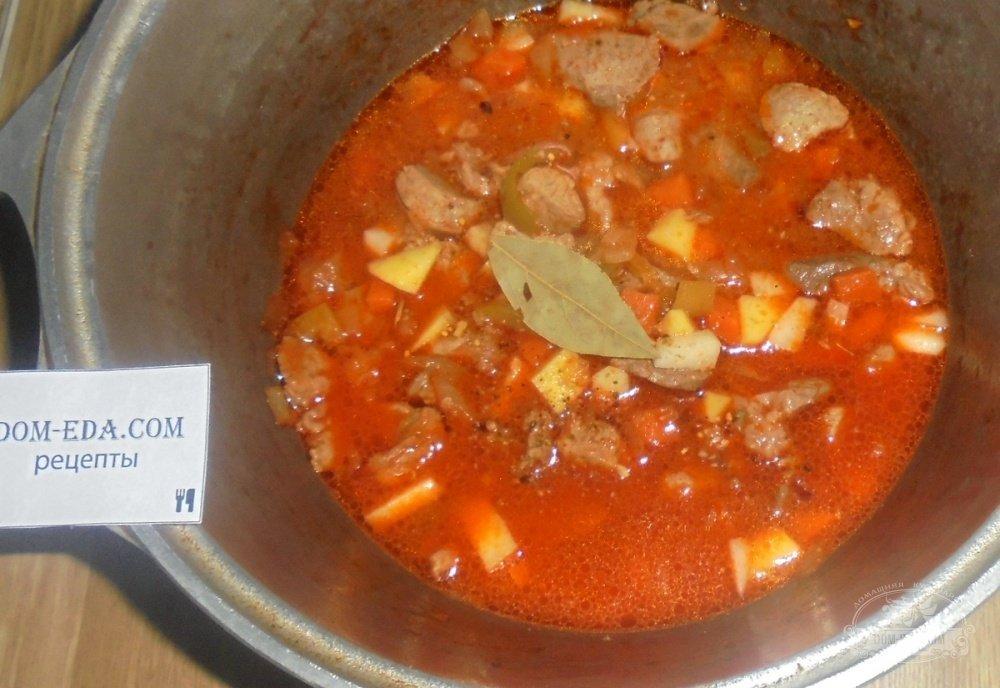 лагман из свинины рецепт с фото пошагово