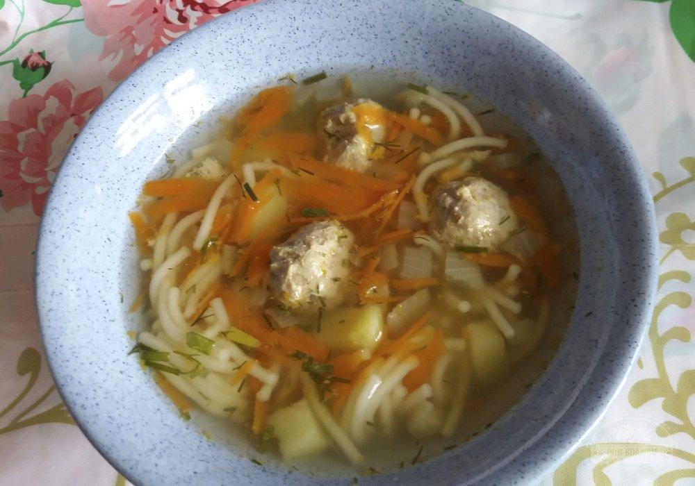 Суп с фрикадельки рецепт пошагово в 4