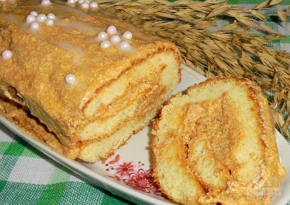 Фоторецепты коржей для торта