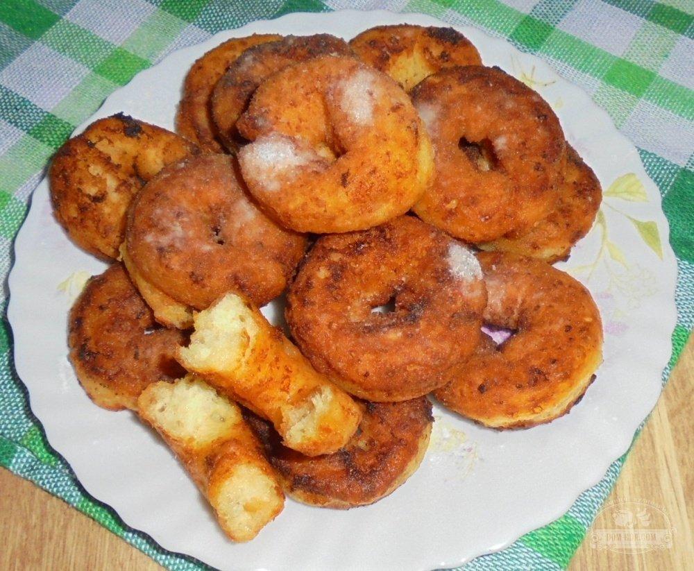 Пончики из творога рецепт пошагово с начинкой