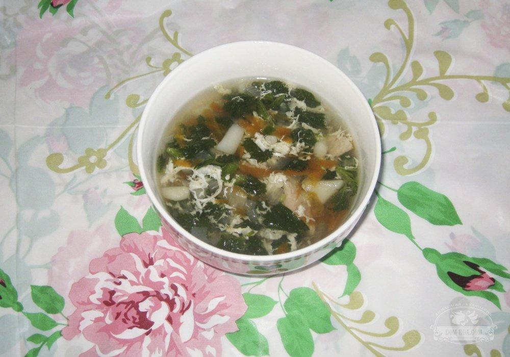 Щи из крапивы пошаговый рецепт с