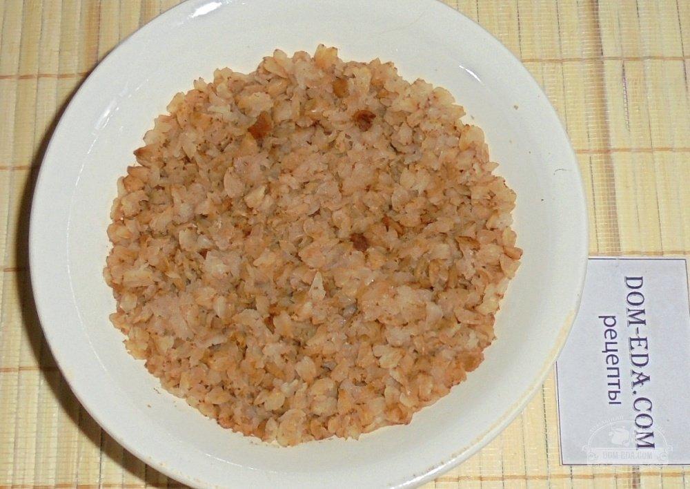 Гречневые котлеты с капустой рецепт с фото