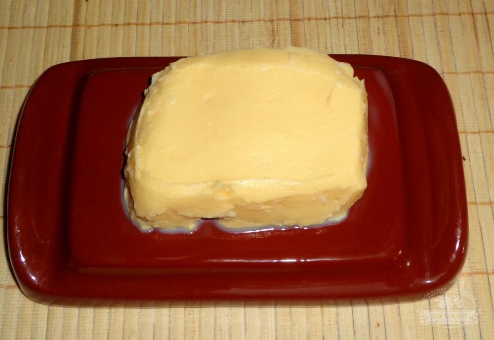 Масло сливочное приготовление в домашних условиях 840