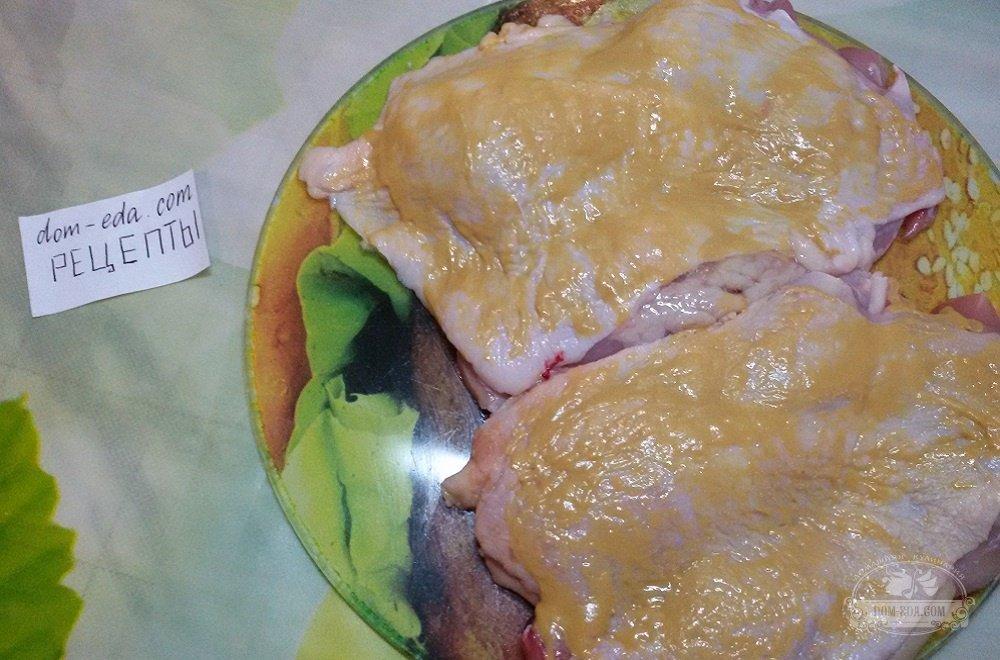 Куриный рулет из окорочков рецепт с фото