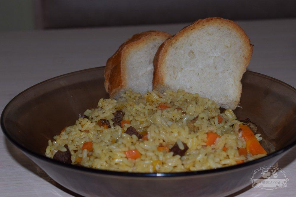 плов из круглого риса фото рецепт только
