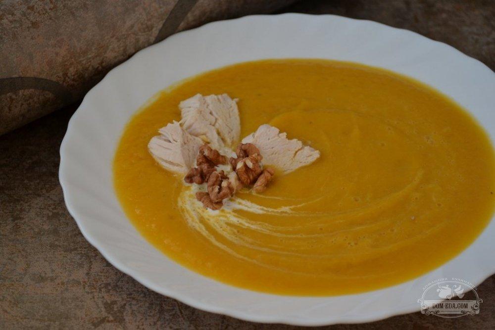 рецепт приготовления крем супа из тыквы со сливками