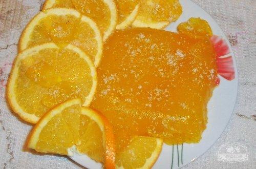 Домашнее апельсиновое желе