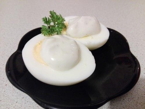 Домашний майонез на перепелиных яйцах