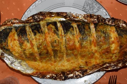 Кижуч в сметане под сырной корочкой