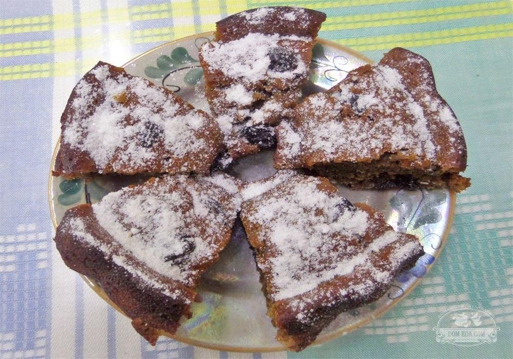 рецепт кекса из заварки с вареньем