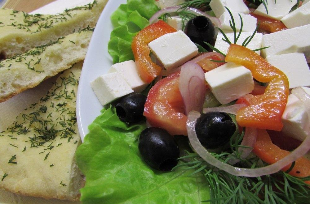 Средиземноморский салат рецепт классический
