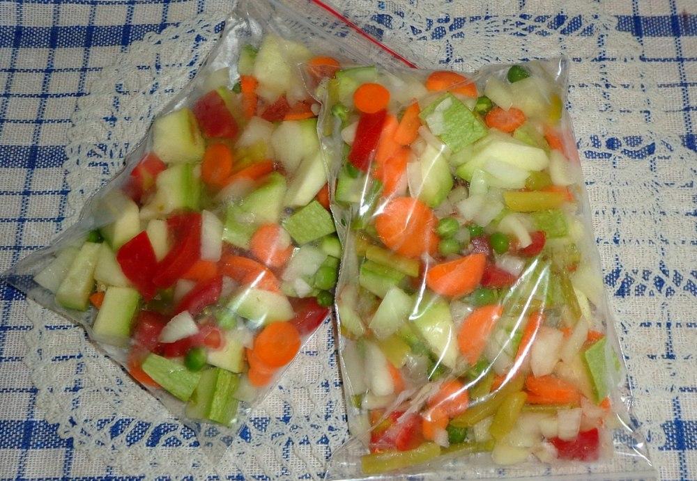 Замороженные овощные смеси на зиму своими руками 74