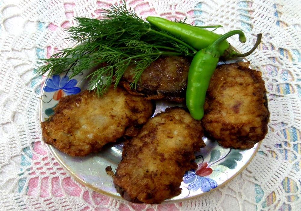 Баклажаны жареные с фаршем на сковороде рецепт
