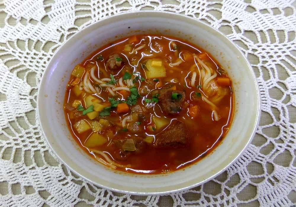 Лагман по узбекский рецепт в домашних условиях 157