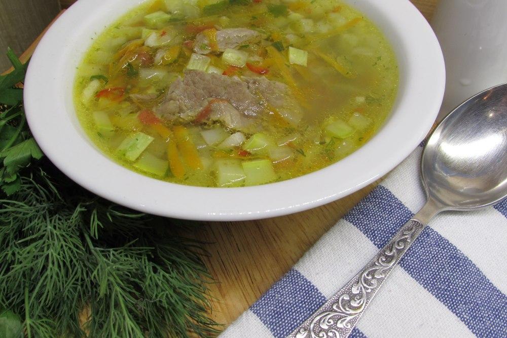 Суп из кабачков рецепты с фото