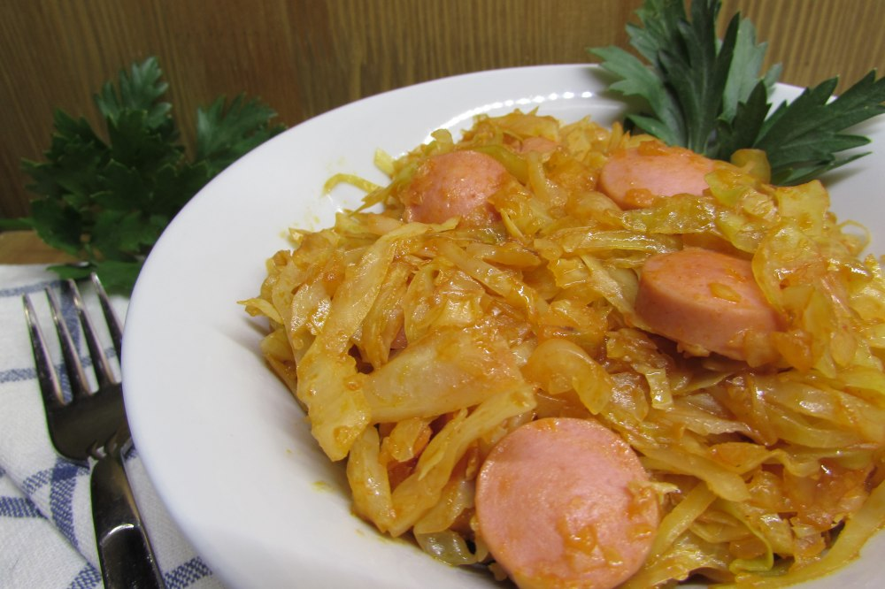 солянка рецепт из капусты с сосиской в мультиварке