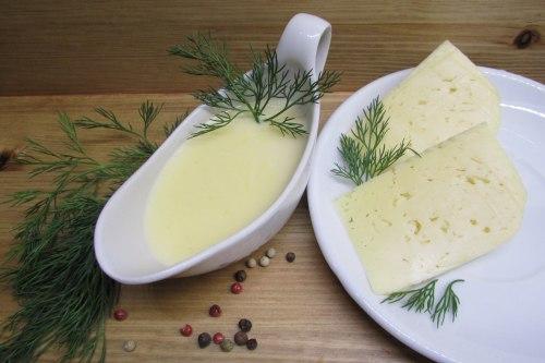 Классический сырный соус для спагетти