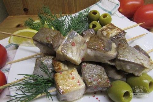 Шашлычки из филе тунца