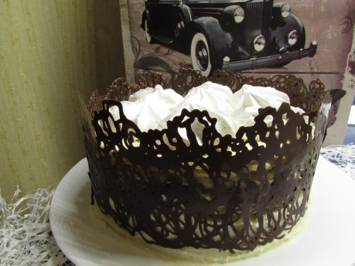 Украшение тортов - шоколента