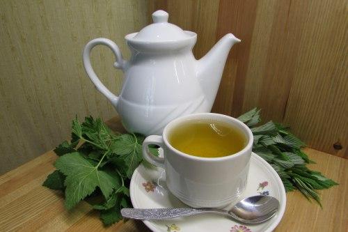 Сборный чай - смородина, малина, мята