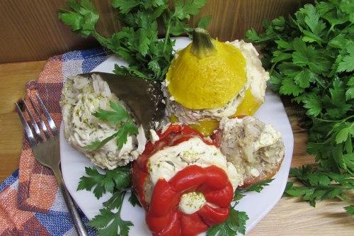 Фаршированные овощи ассорти