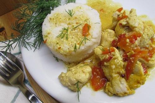 Курица в индийском стиле