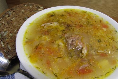 Суп из бычьих хвостов с томатами