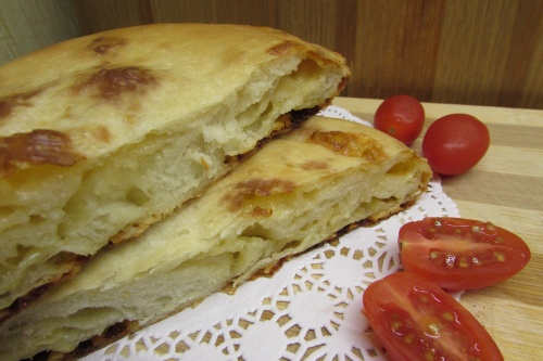 Улитка греческая с сыром